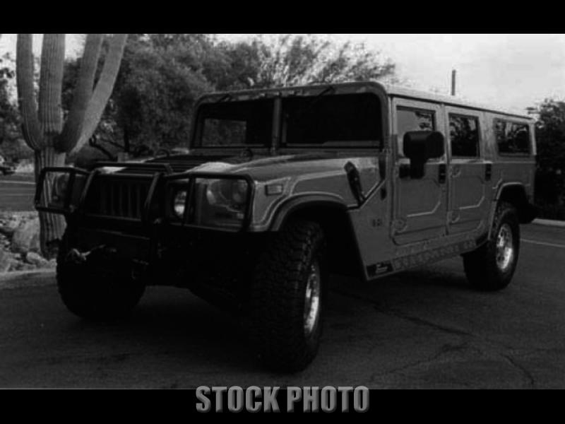 Used 2002 HUMMER H1 10th Anniv. Edition 4WD Wagon 4dr SUV