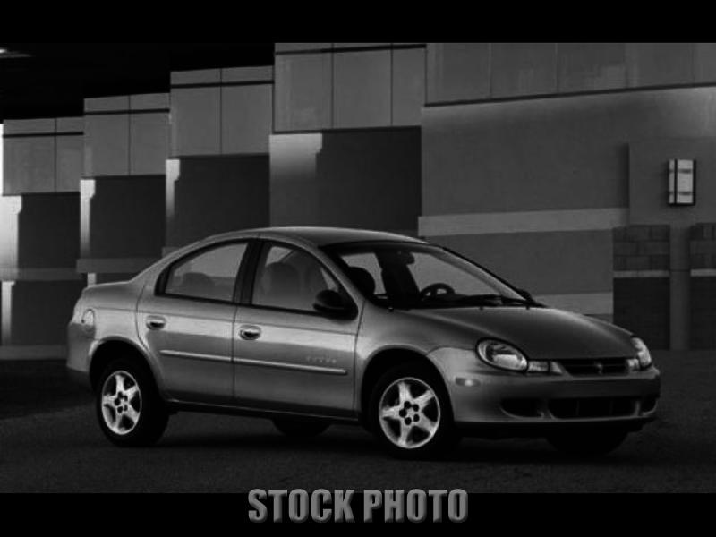 2002 Dodge Neon Base Sedan 4-Door 2.0L