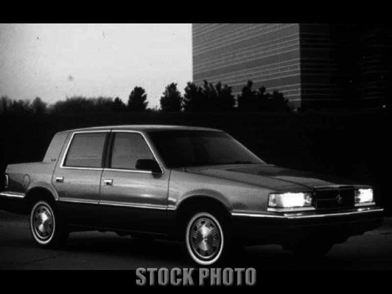 1990 Dodge Dynasty LE Sedan 4-Door 3.3L