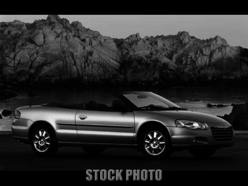 Used 2004 Chrysler Sebring Limited Convertible