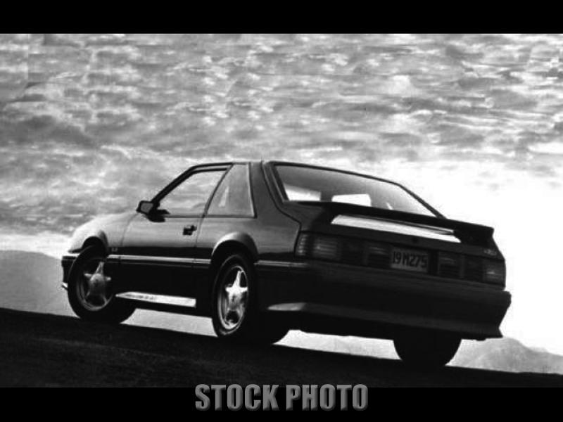 1993 Ford Mustang Cobra Red