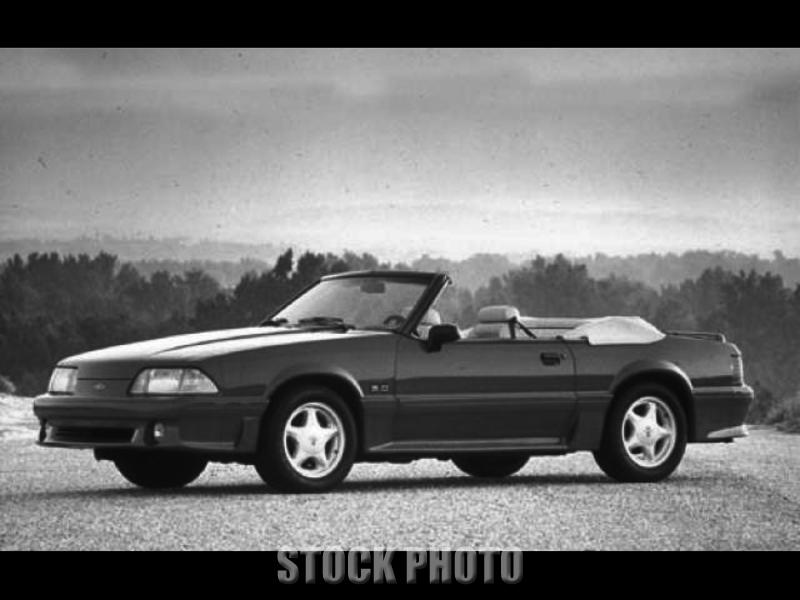 Used 1991 Ford Mustang 2dr Convertible GT
