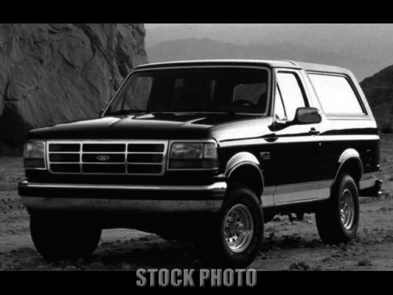 Used 1993 Ford Bronco XLT 4x4 2 Door