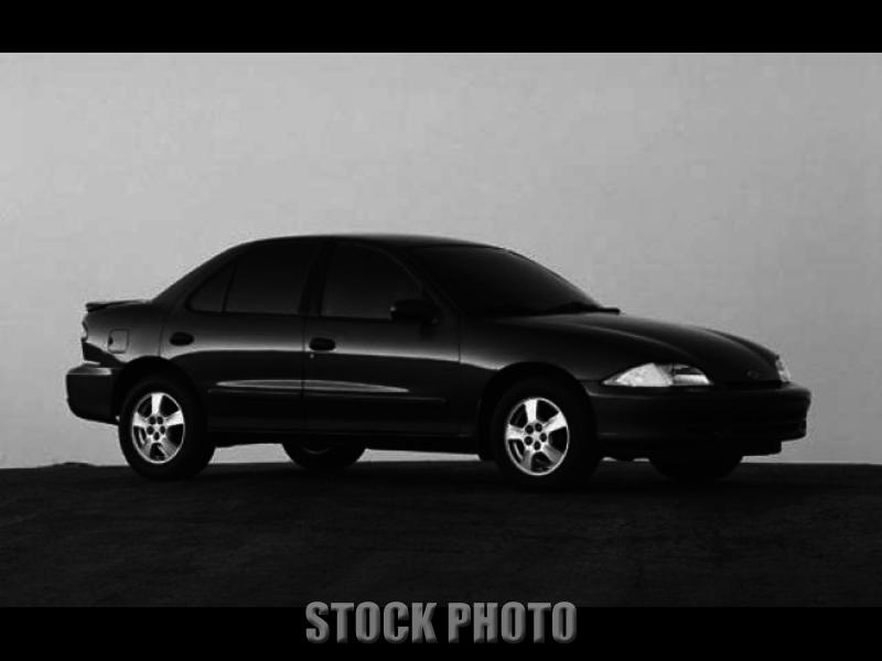 Used 2001 CHEVROLET CAVALIER BASE