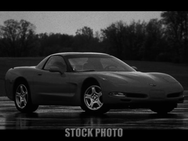 Blackwood New Jersey 1999 Red Corvette