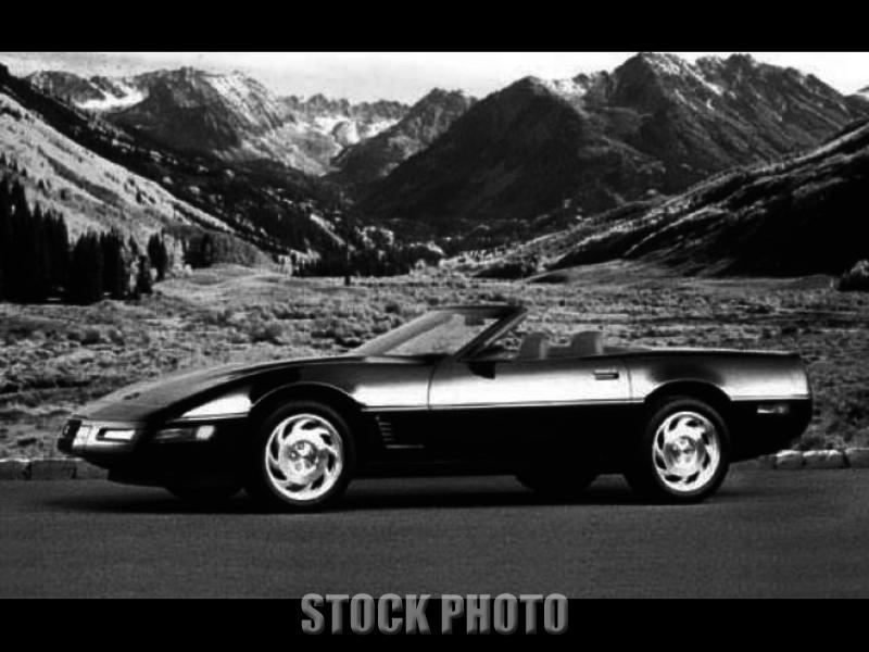 Downers Grove Illinois 1995 Blue Corvette