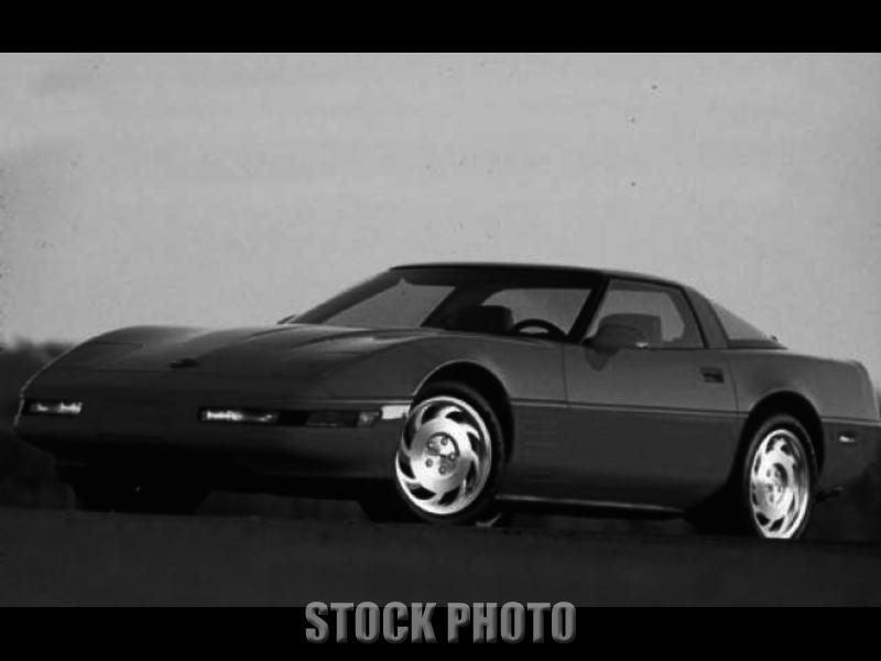 Plymouth Massachusetts 1993 Red Corvette