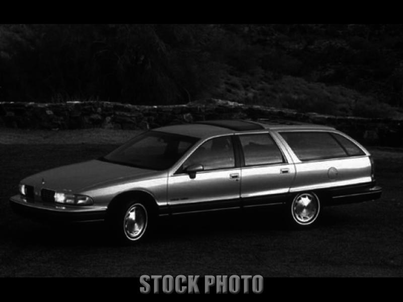 1991 Oldsmobile Custom Cruiser Base Wagon 4-Door 5.0L