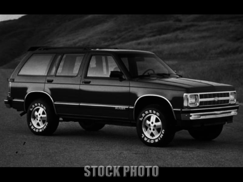 Used 1992 Chevrolet S-10 Blazer