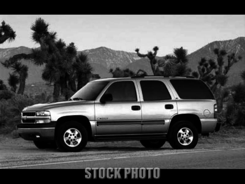 Used 2002 chevrolet tahoe rear