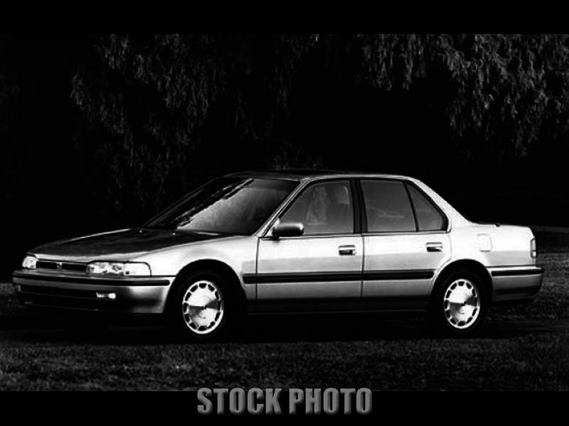 Used 1990 Honda Accord 4dr Sedan 5-Spd