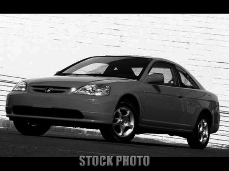 Used 2002 Honda Civic 2dr Cpe EX Auto