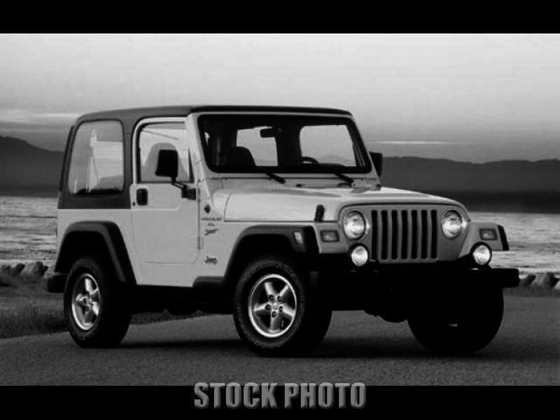 2001 4x4 Jeep Wrangler