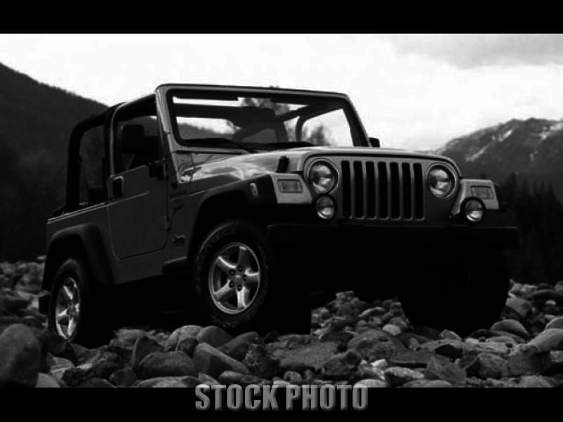 Used 2002 Jeep Wrangler - Tj SE