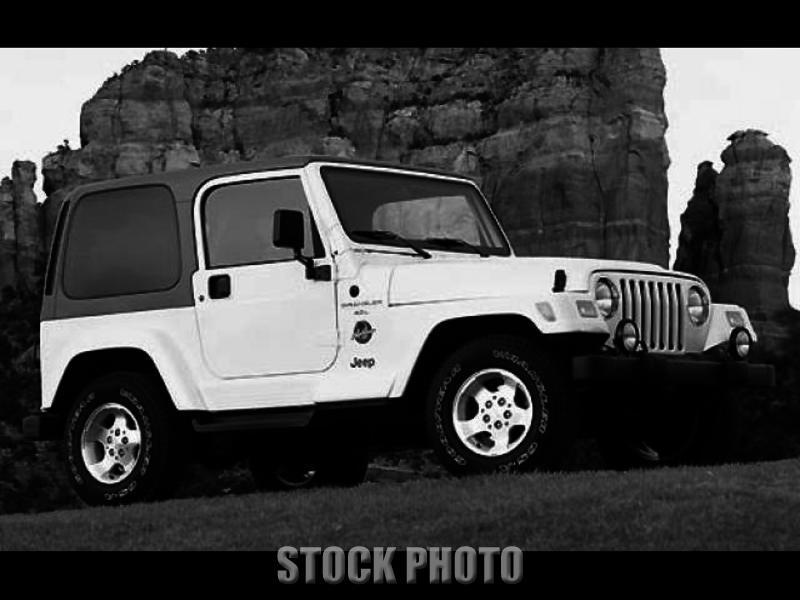 2002 Jeep Wrangler Sahara Edition 4.0L Automatic A/C Hardtop