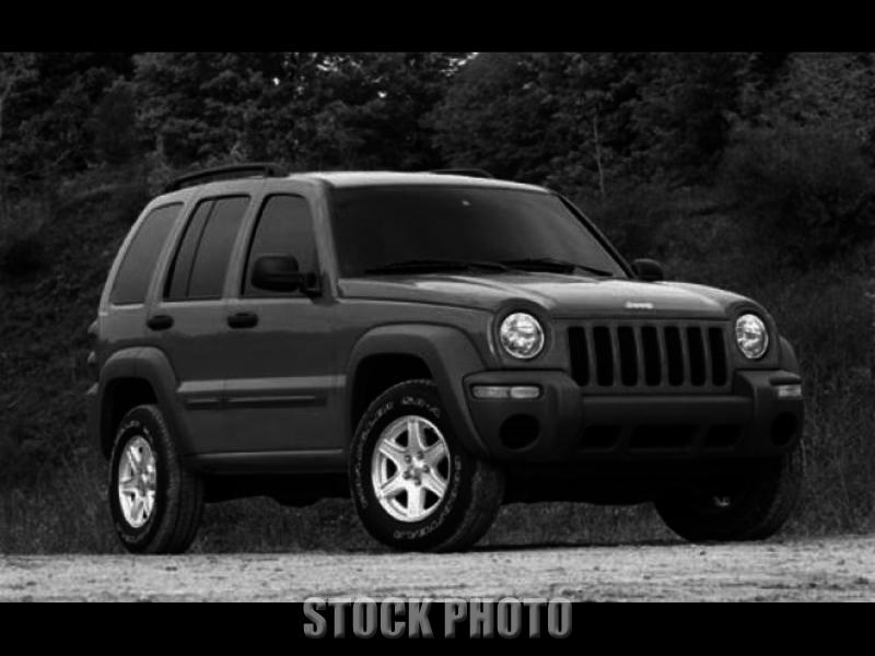 Used 2004 Jeep Liberty Sport Utility 4D