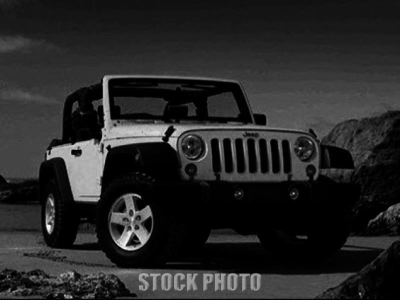 Jeep Wrangler 4WD 2dr Rubicon Low Miles SUV Automatic Gasoline 3.8L V6 Cyl  BLAC