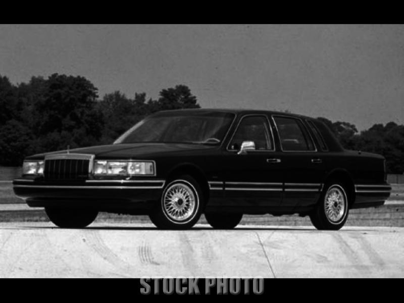 1991 Lincoln Town Car 4 door Cartier Edition 1 owner 52K Miles