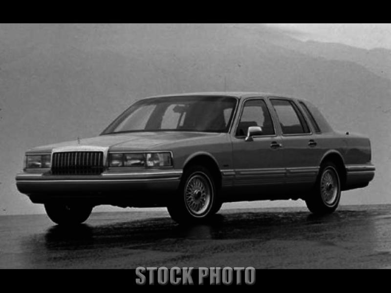 Used 1993 Lincoln Town Car Cartier