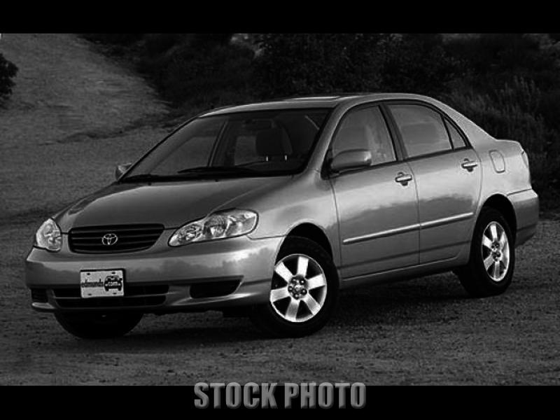 Used 2003 Toyota Corolla CE