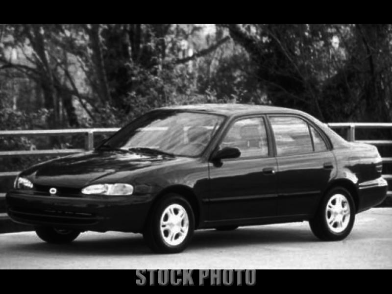 1997 Geo LSi 5 Speed Manual 4-Door Sedan