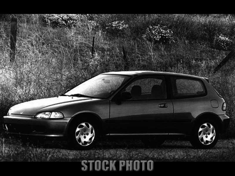 1992 Honda Civic Si Hatchback 3-Door 1.6L
