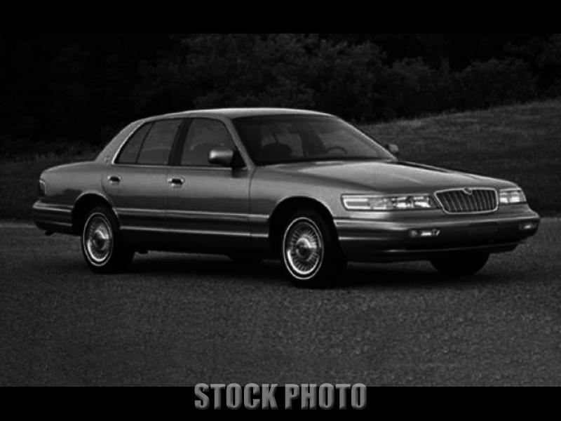 1995 Mercury Grand Marquis LS 4-Door Sedan One Owner White Fully Loaded 151,646