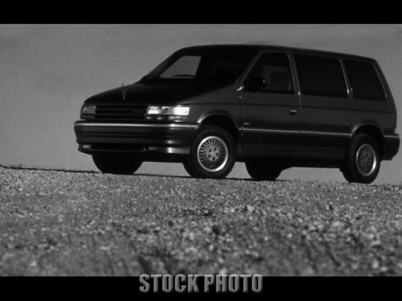 Used 1993 Plymouth VOYAGER BLUE