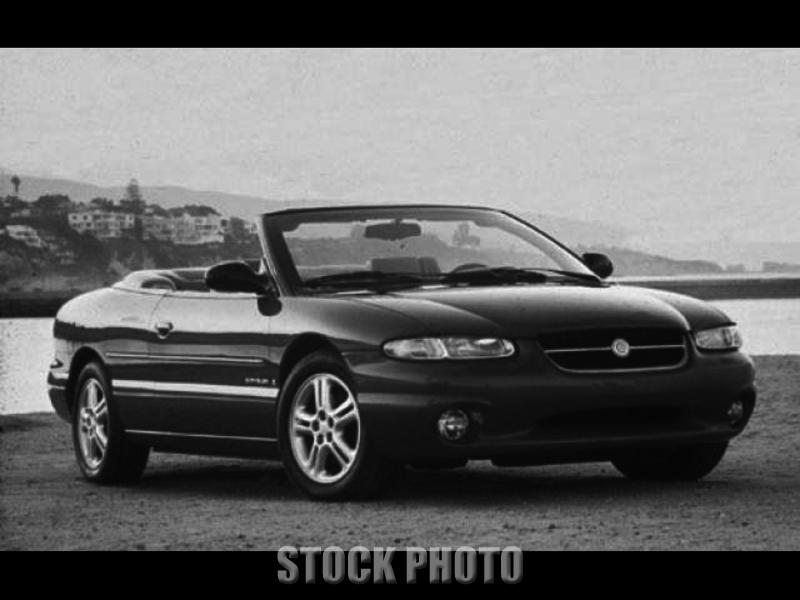 1996 Chrysler Sebring JX Convertible 2-Door 2.5L