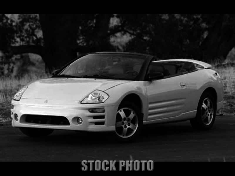 2003 Mitsubishi Eclipse Spyder GS Convertible 2-Door 2.4L