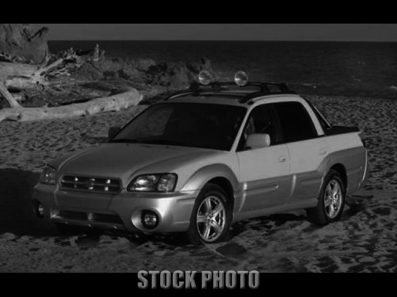 Used 2003 Subaru Baja 4dr Manual