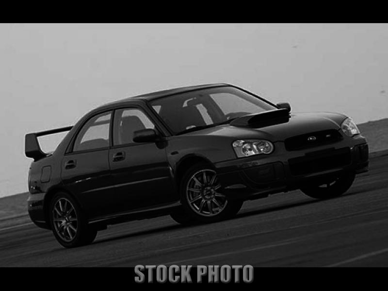 Used 2004 Subaru Impreza Sedan WRX STi