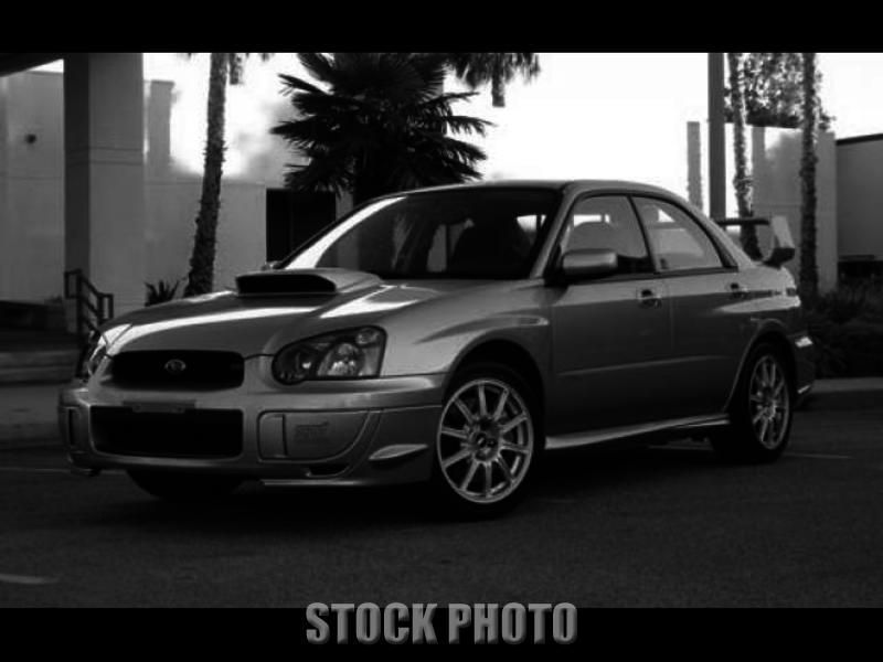 2005 Subaru Impreza WRX STI 6 Speed 2.5 TURBO AWD