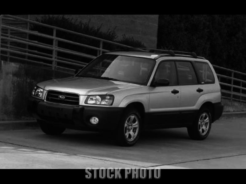 Used 2003 Subaru Forester 4DSED