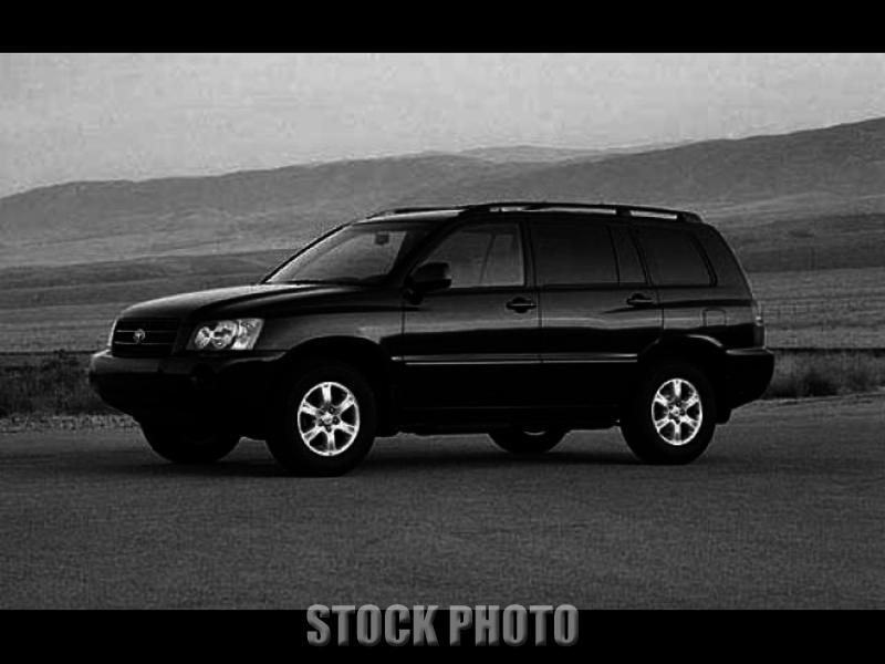 Used 2001 Toyota Highlander V6 4WD
