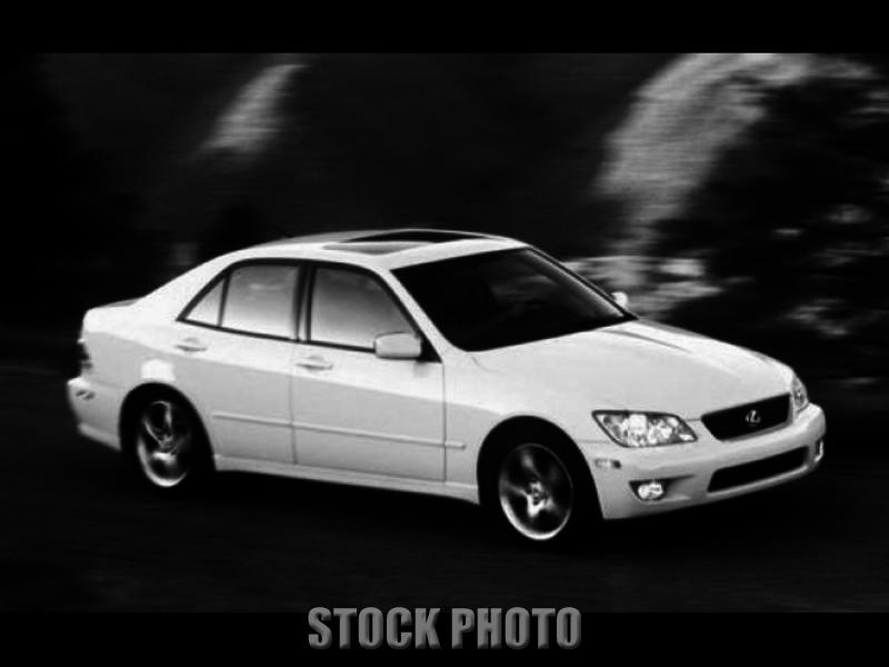 Used 2001 Lexus IS 300 4dr Sdn Sedan
