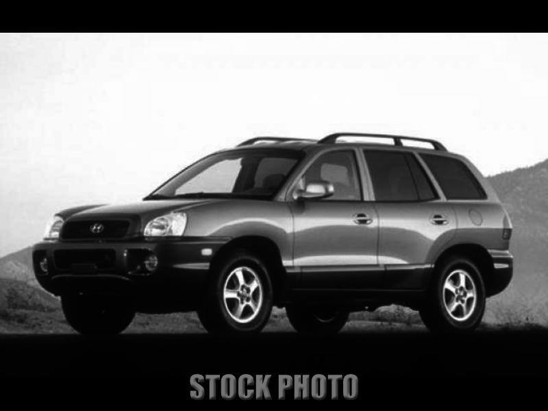 Used 2001 Hyundai Santa Fe GL