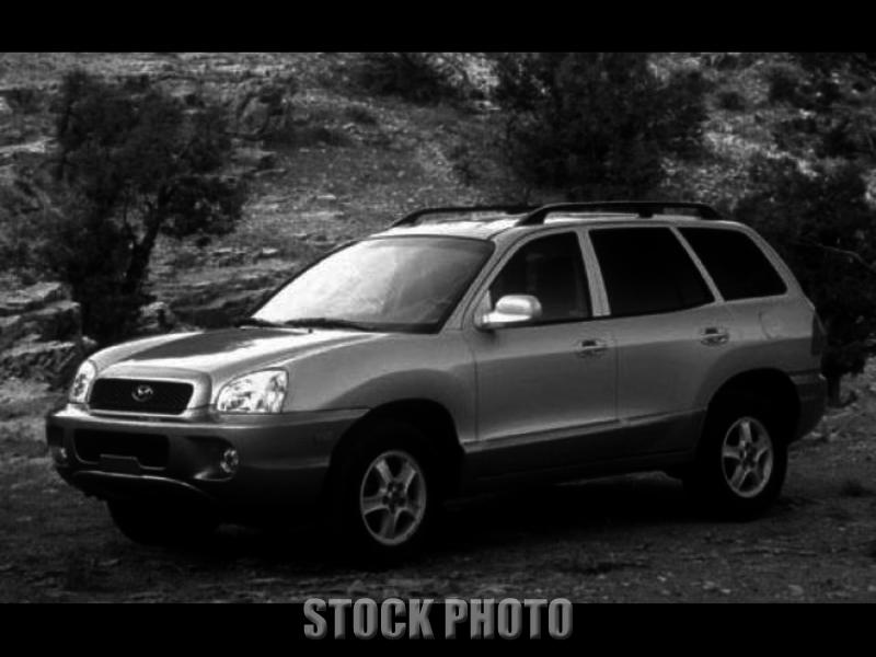 Used 2002 Hyundai Santa Fe GLS Sport Utility 4D