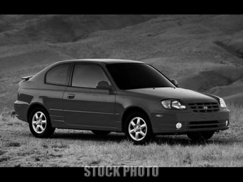 Used 2004 HYUNDAI ACCENT 3DR HB CPE MT