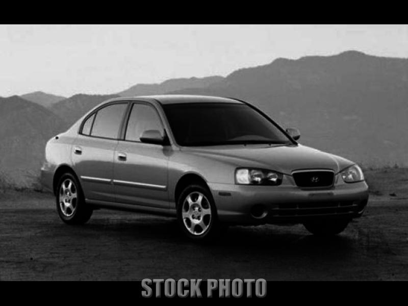 Used 2002 Hyundai Elantra 4 DOOR SEDAN