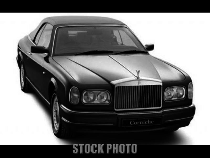 2001 Rolls Corniche All Books And Records Maintained At Local Rolls Dealership