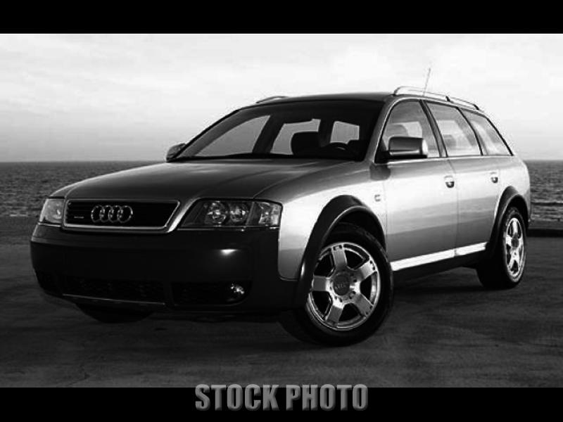 2001 Audi Allroad Quattro A6 Base Wagon 4-Door 2.7L