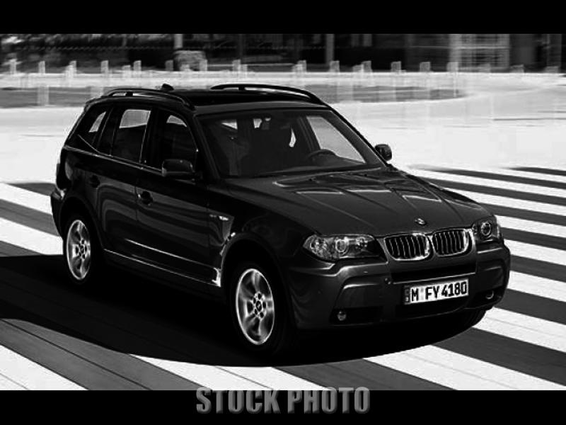 2006 BMW X3 3.0i AWD Automatic, Pano Sunroof, Premium, Cold Weather Pkgs