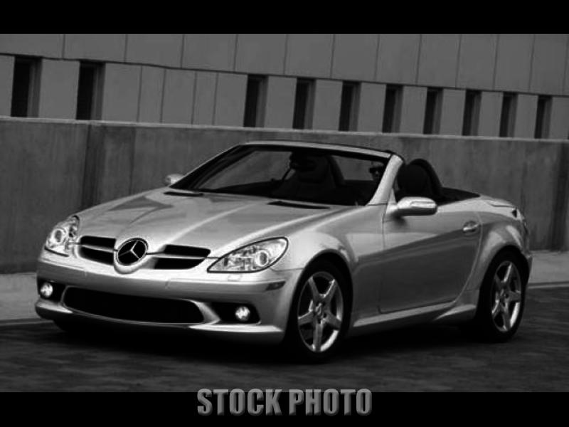 2005 Mercedes SLK 350, Salvage, Silver, 40k, Black Leather, Hard Top Convertible
