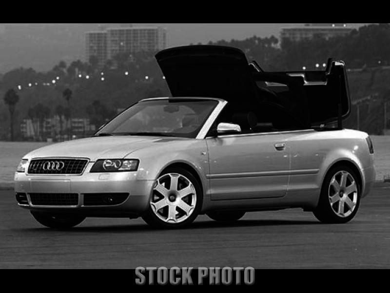 2004 Audi S4 Cabriolet 6 Speed Convertible ***Must Sell***